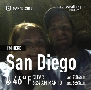 It was dark, it was cold, we lost an hour of sleep, but we came out for the San Diego 5k and did really well.
