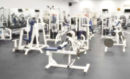 I love a clean gym floor.