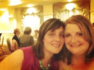 My Alpha Phi sister Jen and I this year at our chapter's 50th anniversary celebration.