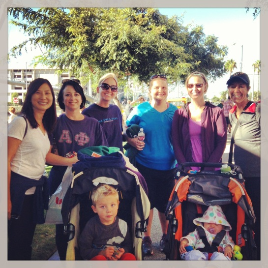 Here's our team for the 2013 Heart Walk.