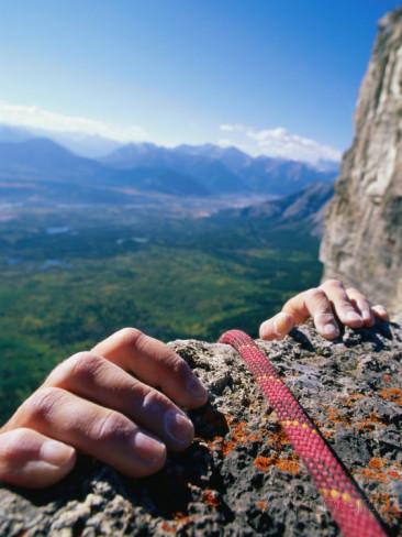Climbershandholding